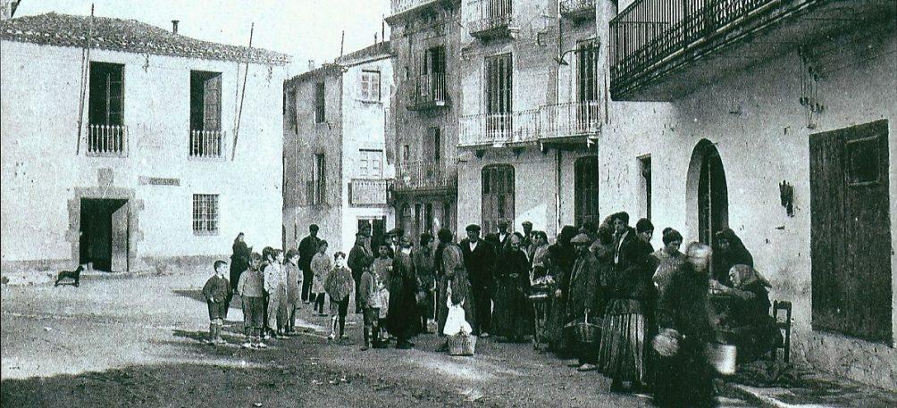 Plaça de la vila o plaça del mercat
